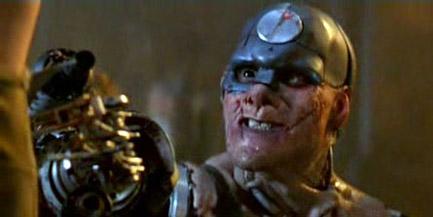 The movie script cyborg