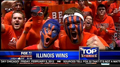 One of the site's webmasters *might* be an Illinois fan.