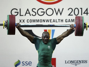 We swear that the Commonwealth Games are a real thing that is happening.