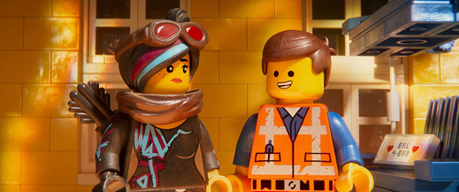 Smile! You're watching a LEGO movie!