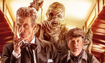 Amusingly, the Doctor may be older than the mummy.