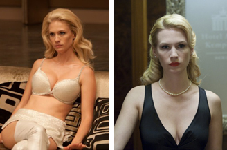 The many faces of January Jones.