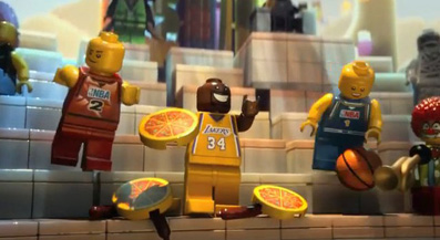 The Lego Movie celebrates NBA All-Star weekend. Relatedly, did you know it's NBA All-Star Weekend?