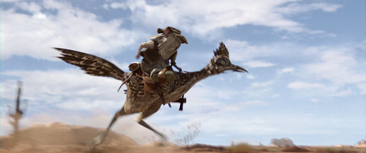 Roadrunner...the fastest way to travel. Meep meep!