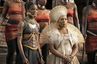 Wakandan fashion is something.