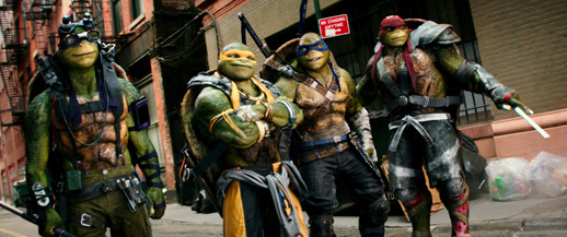It's like all of a sudden people realized they didn't want to see gross versions of ninja turtles.