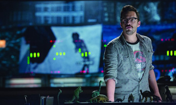 For the umpteenth week in a row of Jurassic World coverage, we feature bit player Jake Johnson. Go J