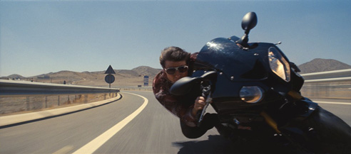 Making motorcycle chases awesome!