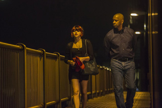 The Equalizer always has time for a romantic walk...wherever that is.