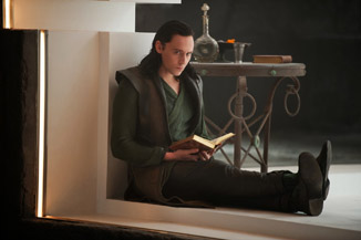Of course Loki is the more bookish of the brothers.