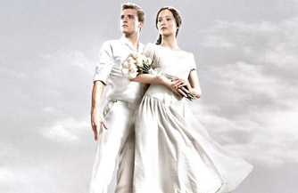 Uh oh. Did Katniss and Peeta go to Hunger Games Heaven?