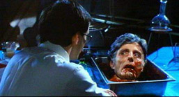 Let's see...I've been decapitated and my head's been stuck in a pan.  Hey!  You're not one of those mad scientists, are you?